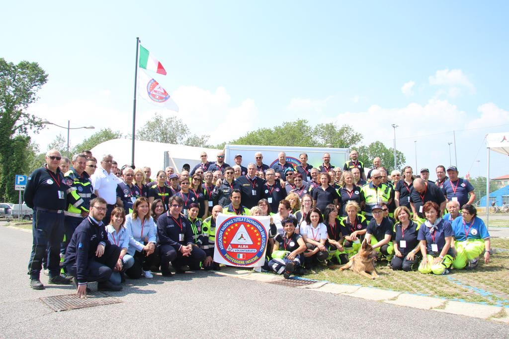 Comacchio esercitazione Associazione Nazionale Tutela e Salvaguardia Beni Culturali PROTEGGERE INSIEME ONLUS